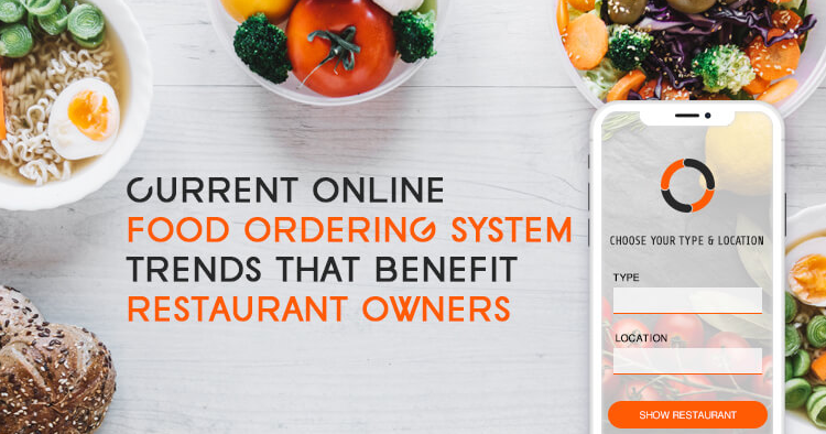 Online ordering systems and delivery apps